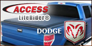 Access LiteRider Roll-Up Tonneau Covers for Dodge