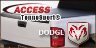 Access TonnoSport Tonneau Cover for Dodge
