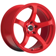 Advanti Deriva Gloss Red Wheels