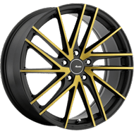 Advanti 94BZ Turbina <br/>Matte Black with Machined Face and Bronze Clear-Coat