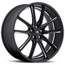 Adventus Wheels <br/> AVX-10 Matte Black Milled