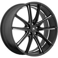 Adventus Wheels AVX-10 Matte Black Milled