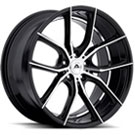 Adventus Wheels <br/> AVX-6 Gloss Black Machined