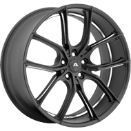 Adventus Wheels AVX-6 Matte Black Milled