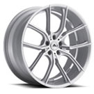 Adventus Wheels <br/> AVX-6 Silver Machined