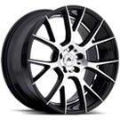 Adventus Wheels <br/> AVX-7 Gloss Black Machined