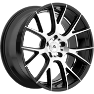 Adventus Wheels AVX-7 Gloss Black Machined