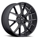 Adventus Wheels <br/> AVX-7 Matte Black Milled