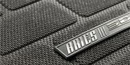 Black Aries 3D Floor Liners Jeep