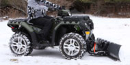 Get It Easy, Purchase the Right ATV Snowplow
