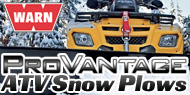Warn ATV Snow Plows