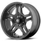ATX Wheels<br> AX181 Artillery Black