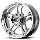 ATX Wheels<br> AX181 Artillery Chrome