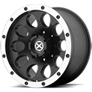 ATX Wheels AX186 Slot Black Wheels