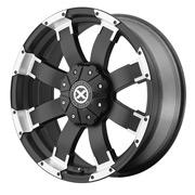 ATX Wheels<br>AX191 Satin Black Machined