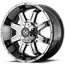 ATX Wheels<br> AX192 Bright PVD