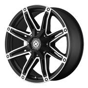 ATX Wheels<br> AX193 Satin Black Machined