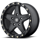 ATX Wheels<br> AX194 Ravine Black Teflon Coated