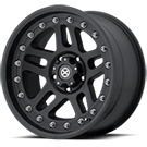 ATX Wheels<br> AX195 Cornice Black Teflon Coated
