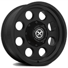 ATX Wheels<br> AX199 Mojave II Satin Black