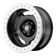 ATX Wheels<br>AX756 Slab Satin Black