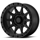ATX Wheels<br> AX202 Cast Iron Black