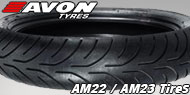 Avon AM22 / AM23 Tires