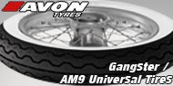 Avon Gangster / AM9 Universal Tires