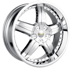 Baccarat Wheels <br/>Sync 1140 Chrome