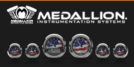 Medallion Motorcyle Bagger Gauges