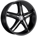 Milanni Wheels Bel-Air 5 Gloss Black
