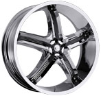 Milanni Wheels Bel-Air 5 Chrome