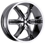 Milanni Wheels Bel-Air 6 Chrome
