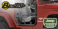 Bestop Element Doors without Bags for 2007-2015 Jeep Wrangler JK & Wrangler Unlimited JK