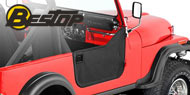 Bestop Jeep Soft Lower Half Doors for 1955-1975 CJ-5, CJ-6, M-38A1