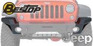 Bestop® HighRock 4x4 Modular End Cap Kit for Front Modular Bumper #44945