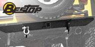 Bestop HighRock 4x4™ <br>Jeep Rear Bumper w/ Roller Mount <br>1987-1995 Wrangler YJ