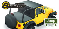 Bestop Halftop™ <br /> 1992-1995 Jeep Wrangler YJ