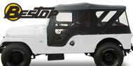 Bestop Tigertop™ Soft Top <br>55-81 Jeep CJ6