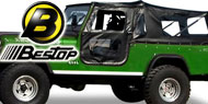 Bestop Tigertop™ Soft Tops