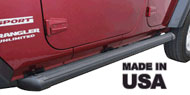 Patriot Black Powder Coated Running Boards