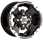 Black Rock Wheels<br/> 110B Intruder Black