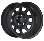 Black Rock Wheels<br/> 942B Steel Type D Window Black