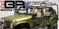 2007-15 Jeep JK Unlimited<br /> Body Armor Roof Rack Base Kit