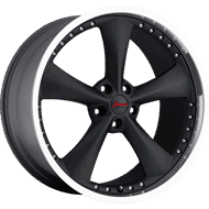 Bravado AMERICANA II Matte Black Wheels