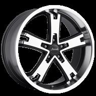 Bravado Brute Gloss Black Wheels