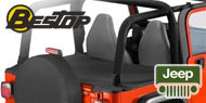 Bestop Jeep Duster Deck Covers