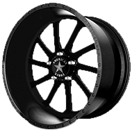 American Force Wheels<br /> BURNOUT SS5 Black