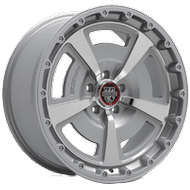 Centerline Alloy Wheels <br/>631MS MM2 Titanium Silver with Mirror Machined Face