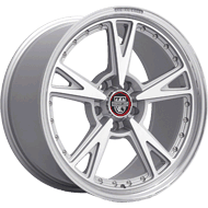 Centerline Wheels <br/>632MS MM3 Titanium Silver with Machined Face